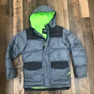 The North Face 550 Down coat boy 14-16